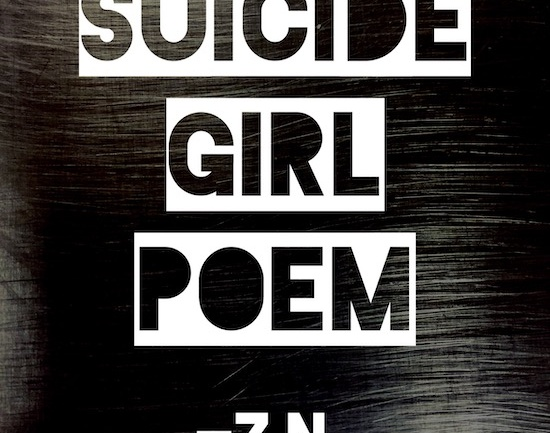 Suicide Girl Poem