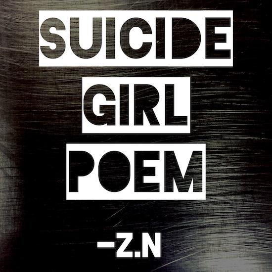 Suicide Girl Poem