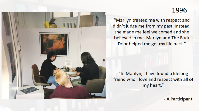 30 Years of Listening – Marilyn Dyck